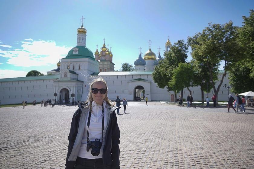 Kati am Goldenen Ring - Russland