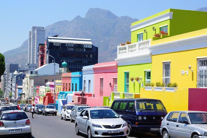 Bo-Kaap Viertel in Kapstadt
