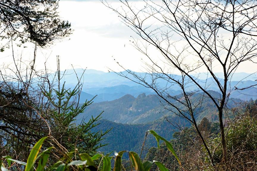 Blick vom Mount Koya