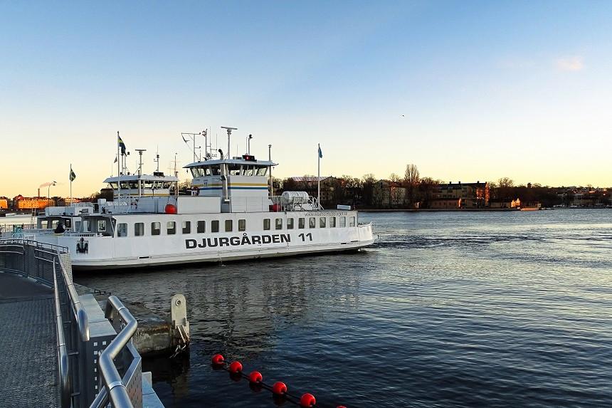 Fähre nach Djurgarden - Stockholm