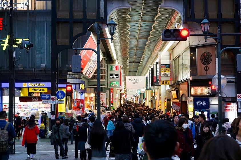 Tenjinbashi - suji Einkaufsmeile - Osaka