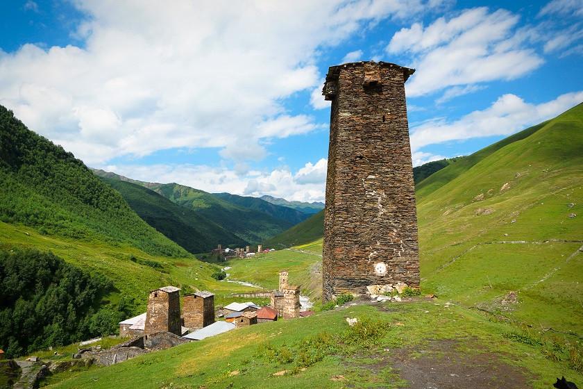 Wehrturm in Swanetien