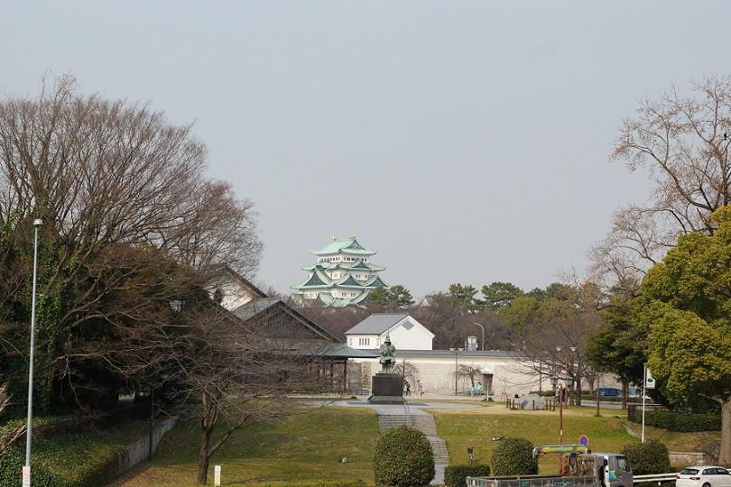 Blick auf die Burg in Nagoya