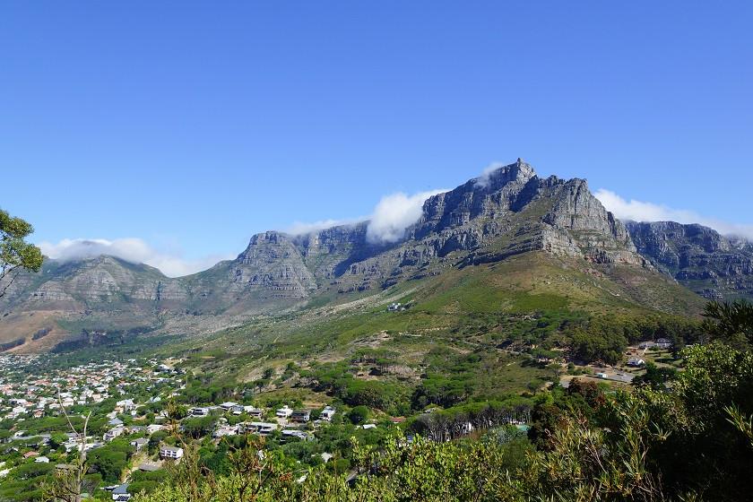 Blick auf den Tafelberg - Kapstadt