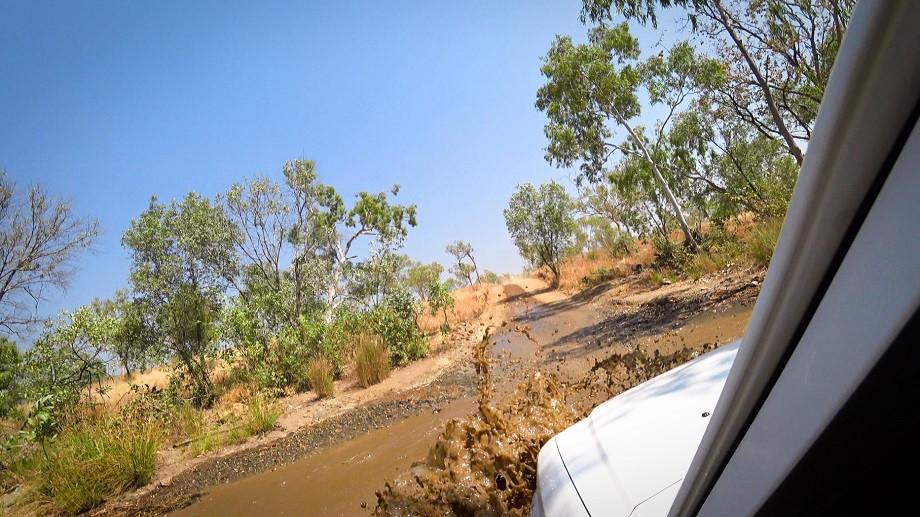 Wasserloch Durchquerung Purnululu Bungle Bungle