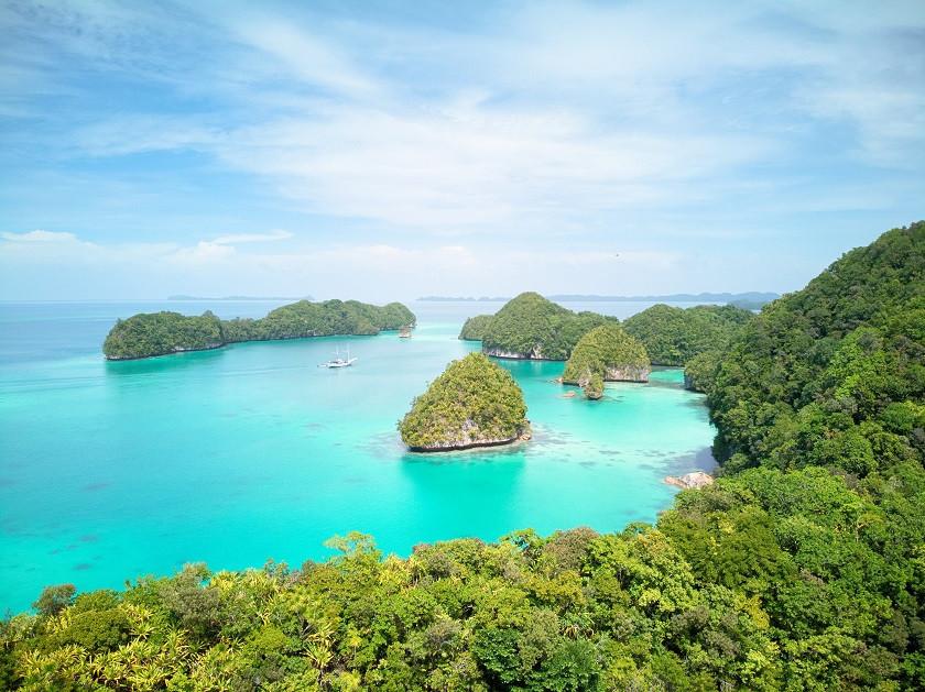 Palau von oben