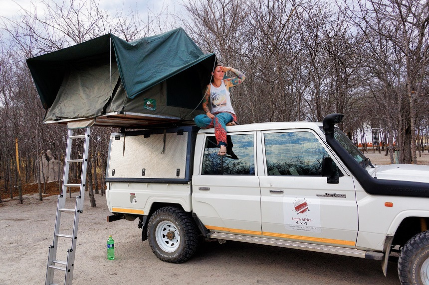 South Camp - Nxai Pan Nationalpark