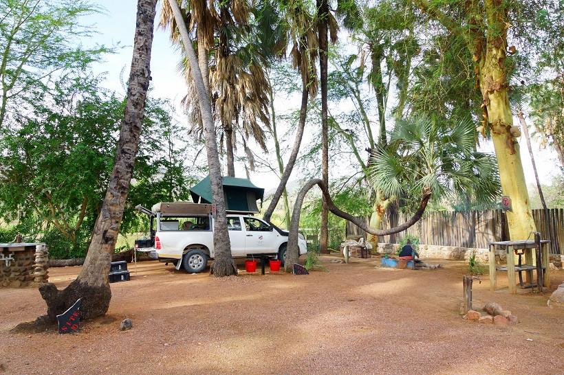 Epupa Falls Lodge & Campsites - Stellplatz Nacht 1