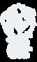 Bun tum die welt Logo mit Schrift weiss