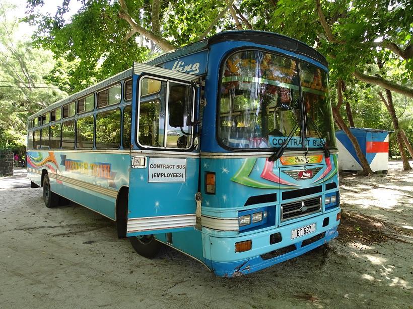 Bus auf Mauritius