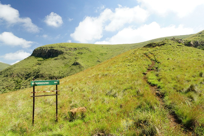 Wir sind noch lange nicht am Gipfel - Wodehouse Peak