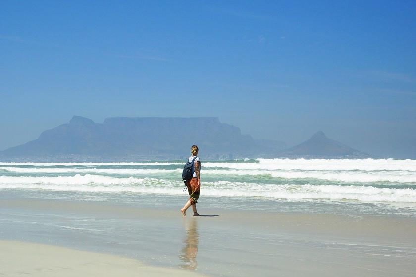 Blouberg Strand mit Blick auf den Tafelberg