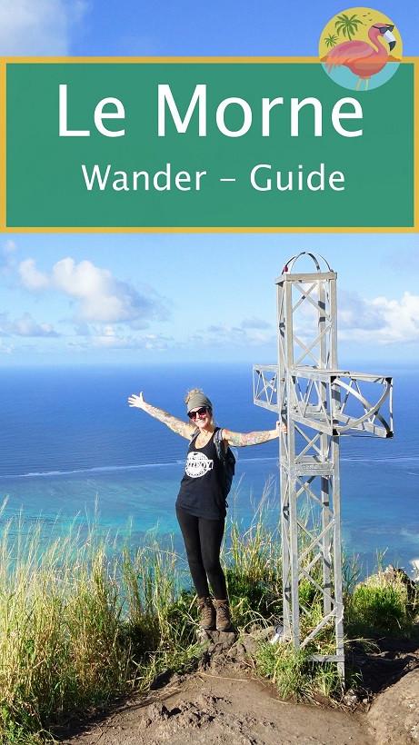 Le Morne Wanderguide - Mauritius Pin