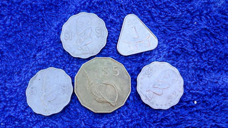 Aitutaki Münzen