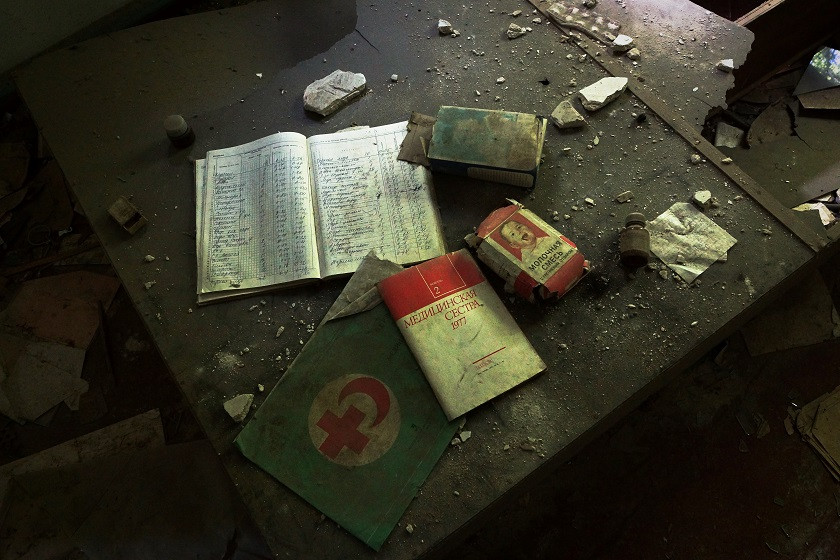 Zurückgelassene Dinge - Tschernobyl