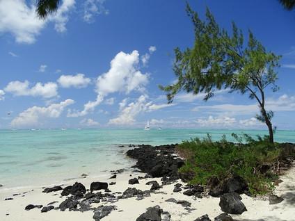 Strand auf der Ile aux cerfs