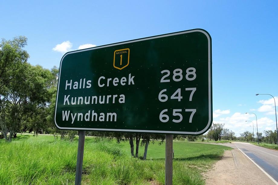 Distanzen - Australien