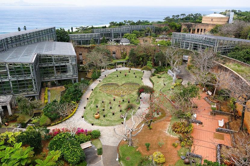 Ein Teil des Tropical Dream Centres auf Okinawa