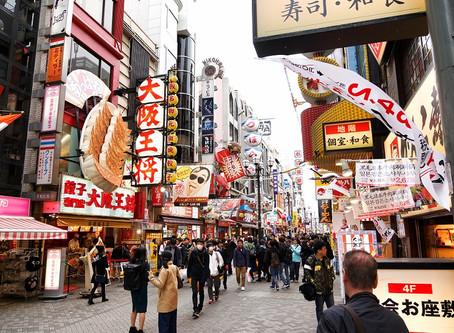 Osaka: Verrücktes Dotonbori und der Glico Mann