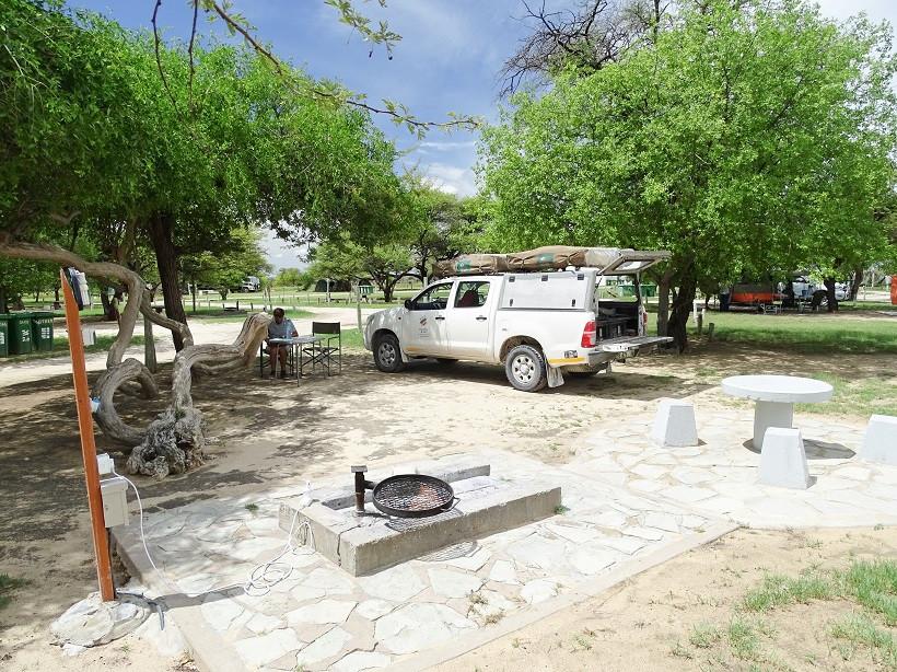 Namutoni Camp - Namibia