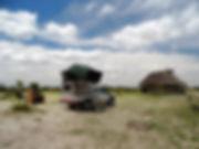 Toyota Landcruiser Camper im Elephant Sa