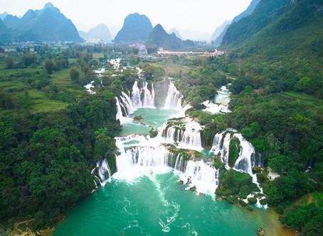 Ban Gioc Wasserfall: Landschaftliches Highlight im Norden Vietnams