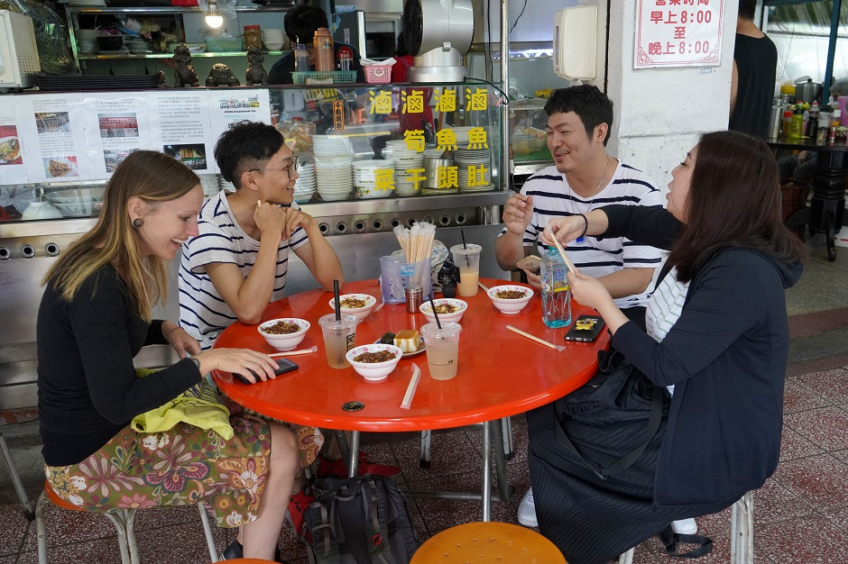 Streetfood essen in Taiwan
