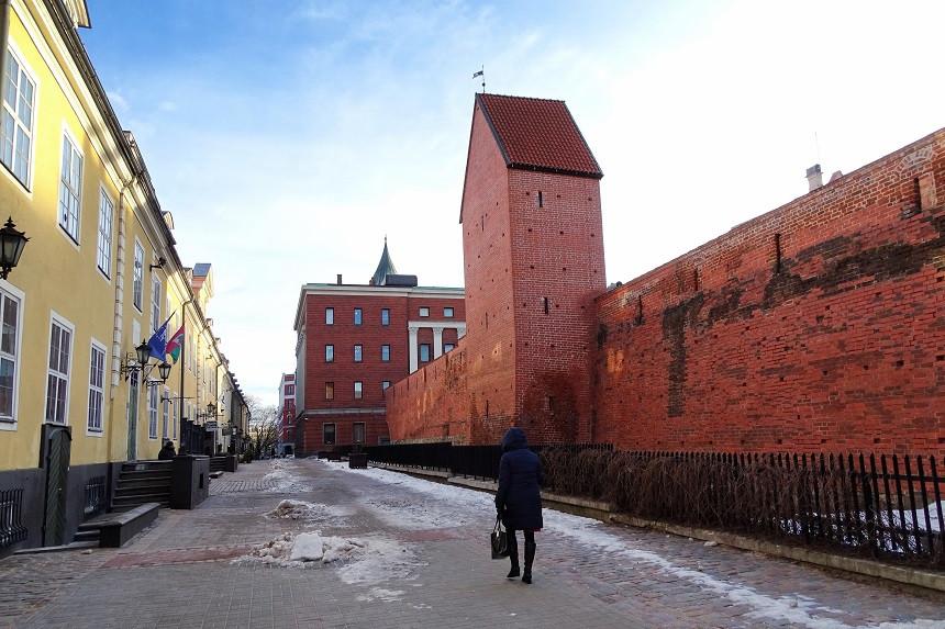 Stadtmauer - Riga