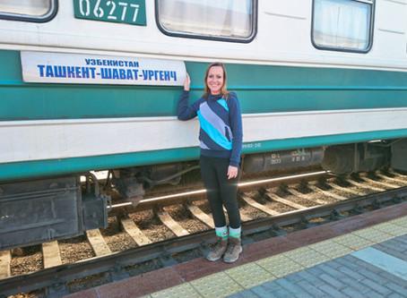 Zug fahren in Usbekistan: Alles, was du wissen musst