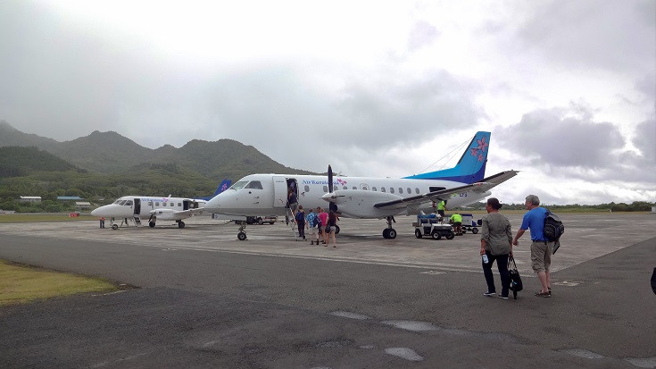 Flughafen Rarotonga