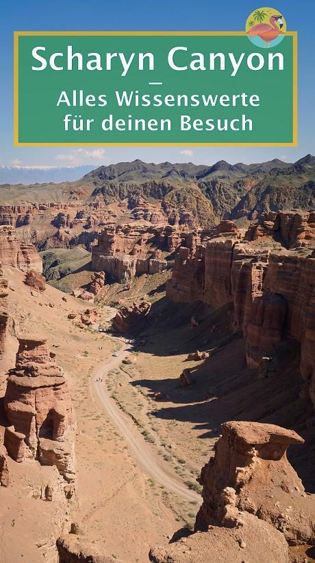 Charyn Canyon Kasachstan - Pin