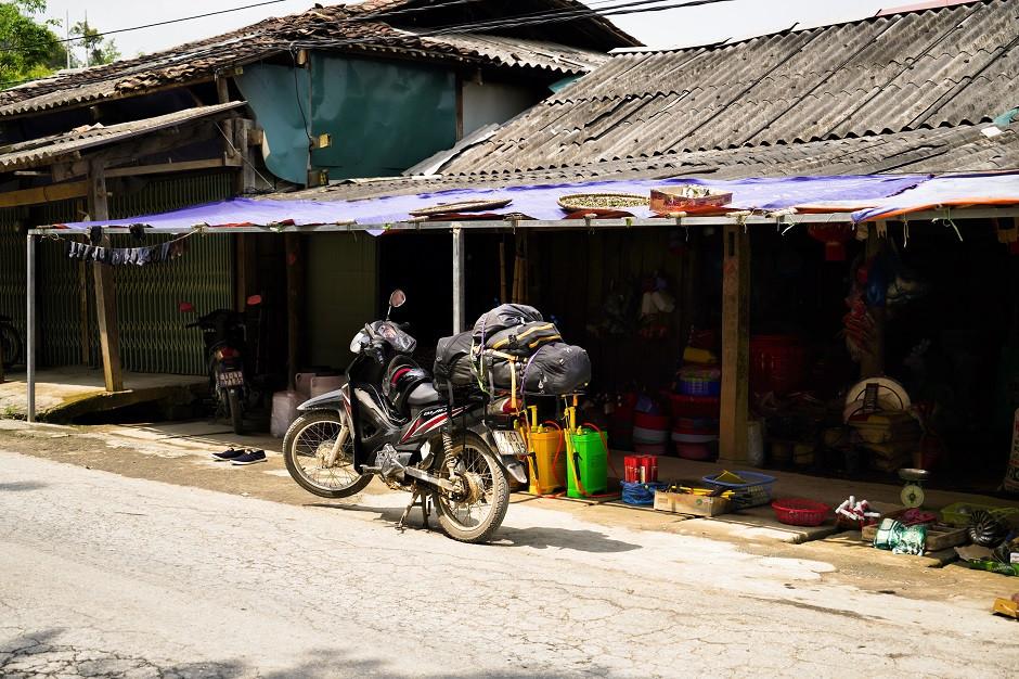 Typischer Shop am Ha Giang Loop