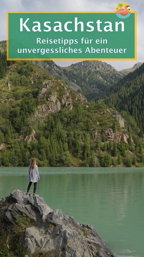 Kasachstan Reisetipps - Pin