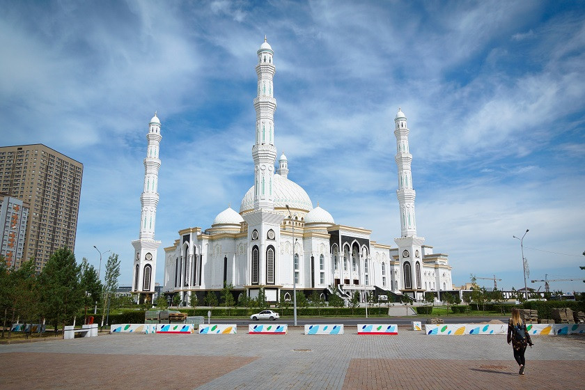 Hazret-Sultan-Moschee - Astana