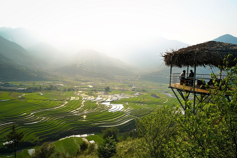 Raspberry Hill Lookout - Mu Cang Chai