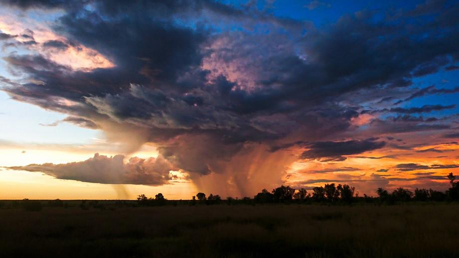 Gewitterwolke Australien Kimberleys