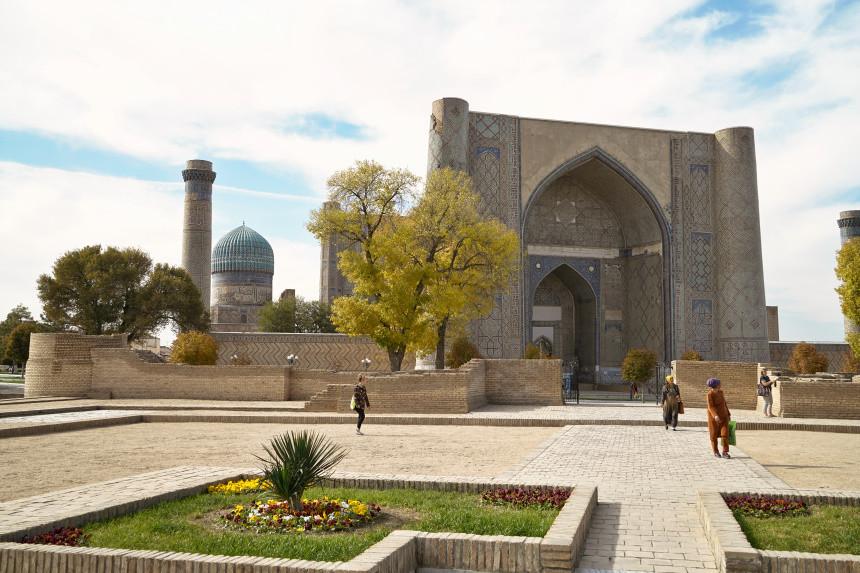 Bibi Khanyum Moschee