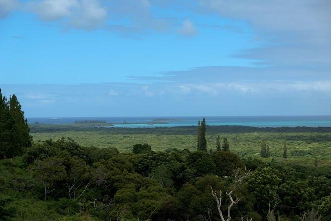 Höchster Punkt auf Isle of Pines - Neukaledonien