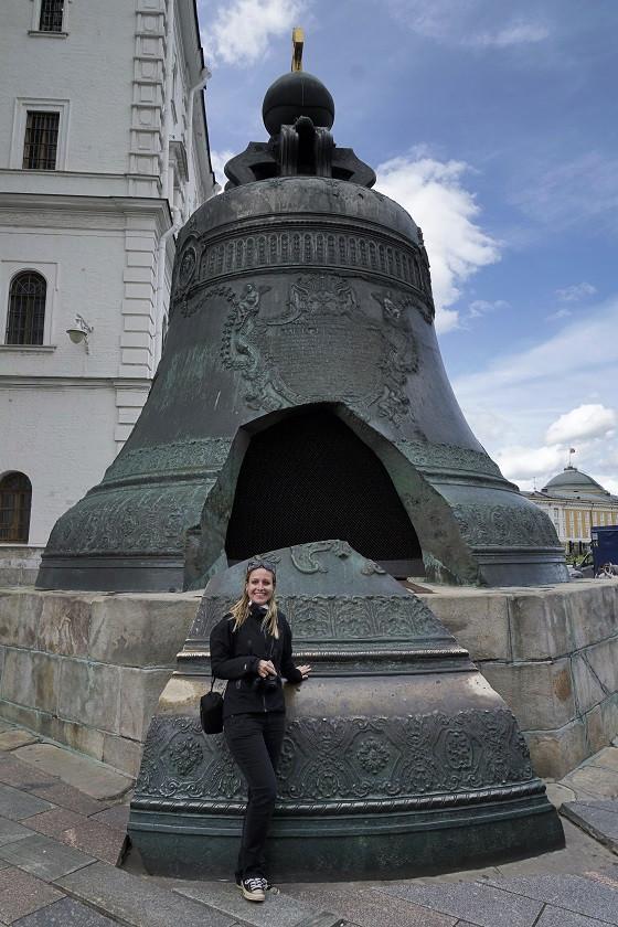 Zarenglocke im Kreml - Moskau