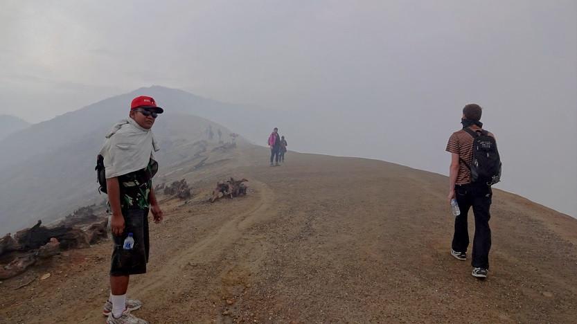 Kraterrand - Mount Ijen