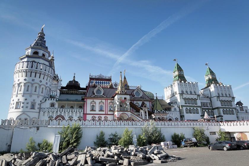 Kreml in Ismailowo von aussen - Moskau