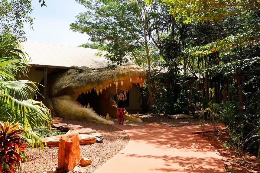 Crocodile Park in Broome
