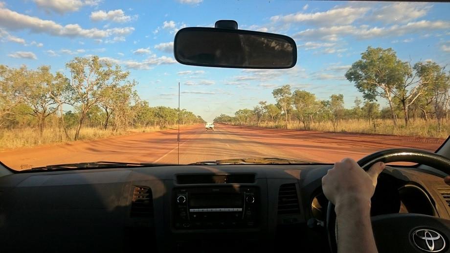 Highway in den Kimberleys - Australien