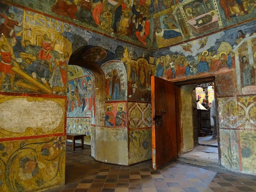 Beeindruckende Fresken - Goldener Ring