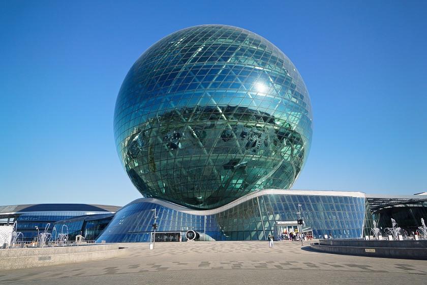 Expo Gelände in Astana