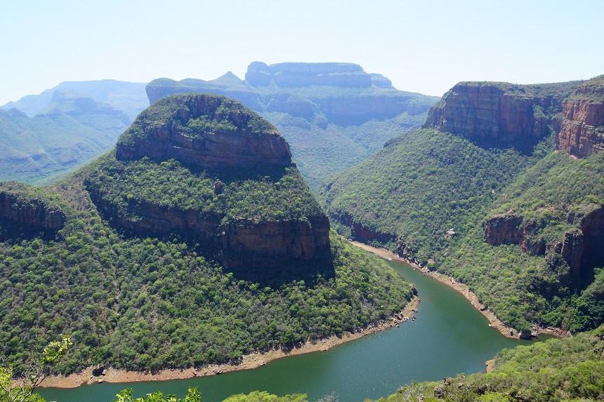 Grandiose Ausblicke in den Blyde River Canyon
