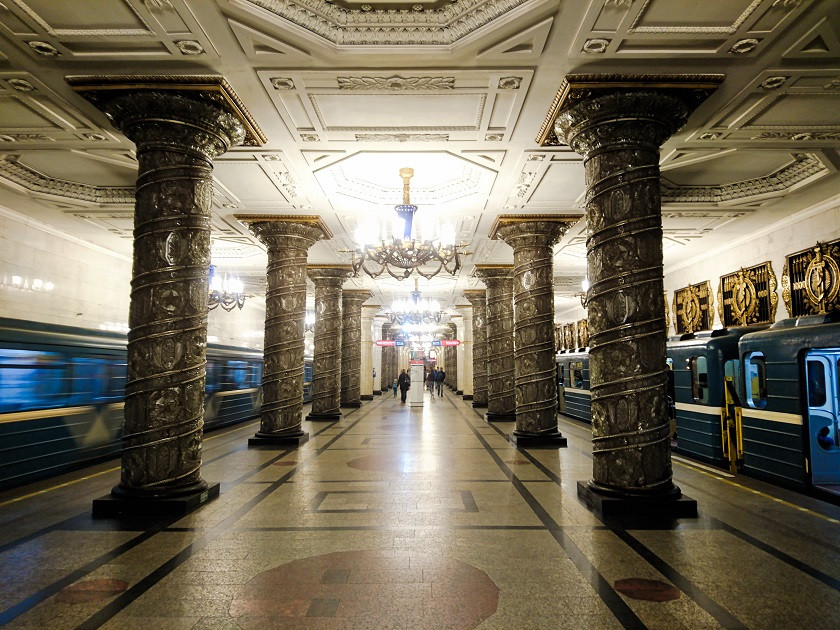 Metro-Station in Russland