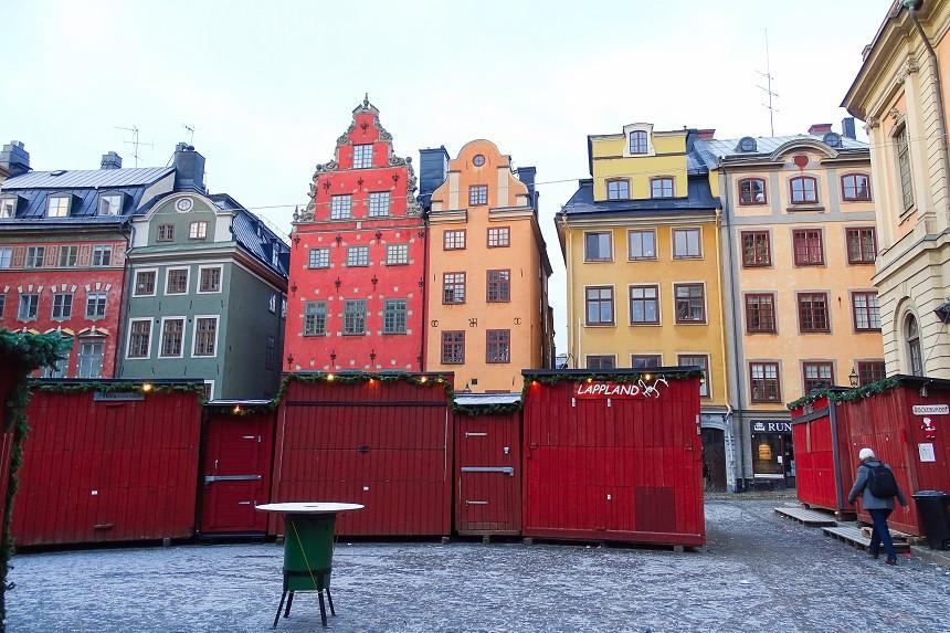 Stortorget mit seinen bunten Häusern - Stockholm