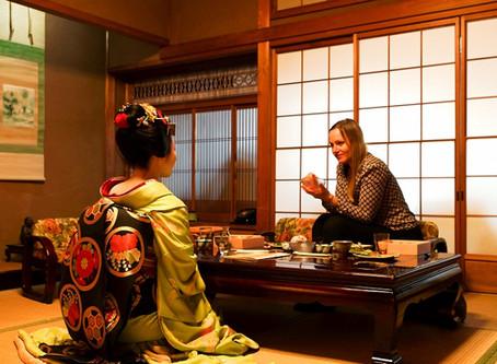 Kyoto - Sightseeing & Treffen mit einer echten Geisha