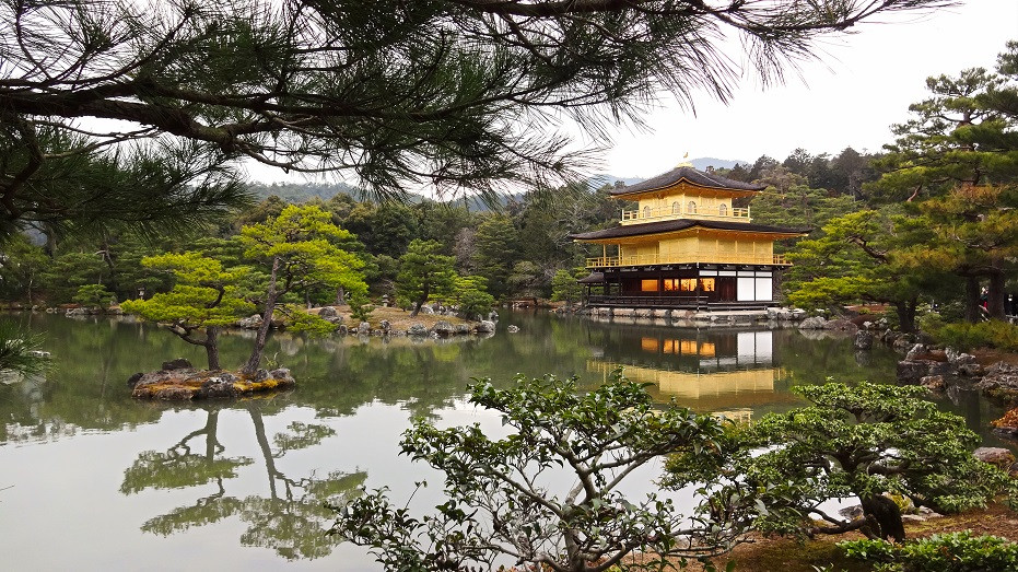 Goldener Pavillion - Kyoto
